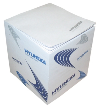 POS materiál - Lepící bloček HYUNDAI