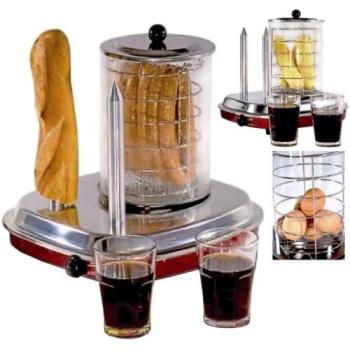 Hot dog Guzzanti FC 460 retro nerez/sklo