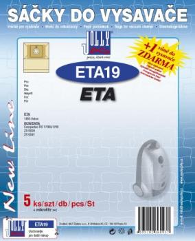 Sáčky do vysavače Jolly ETA 19