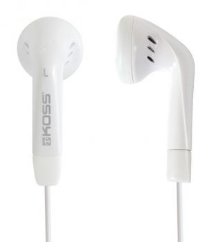 Sluchátka Koss KE/5 W (doživotní záruka) bílá