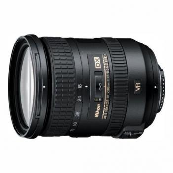 Objektiv Nikon 18-200 mm f/3.5 – 5.6G AF-S DX VR II                   černý