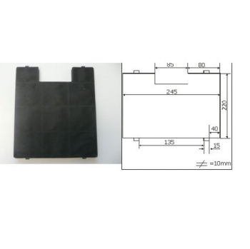 Uhlíkový filtr Amica FWK 250