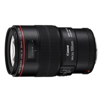 Objektiv Canon EF 100 mm f/2.8L Macro IS USM černý