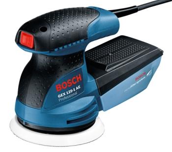Excentrická bruska Bosch GEX 125-1 AE Professional modrá