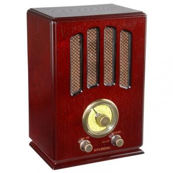 Radiopřijímač Hyundai Retro RA 104 dřevo