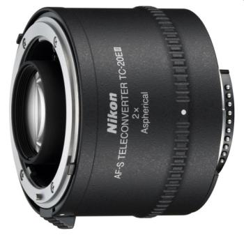 Příslušenství pro fotoaparáty  Nikon TC-20E III AF-S TELECONVERTOR 2.0x černý