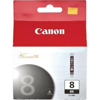 Inkoustová náplň Canon CLI-8Bk, 450 stran - originální černá