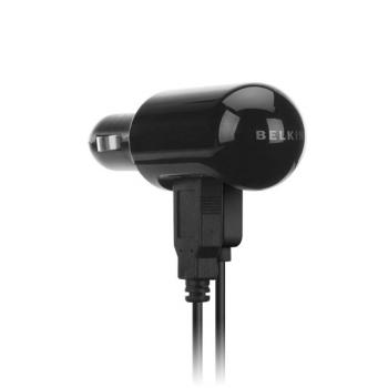 Nabíječka do auta Belkin + kabel pro iPod/iPhone černý