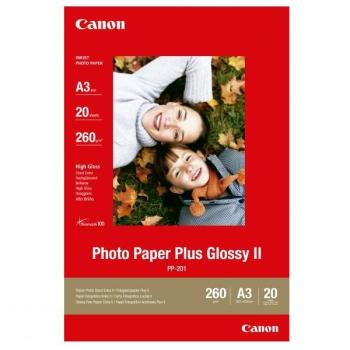 Fotopapír Canon PP201 A3, 20 listů bílý
