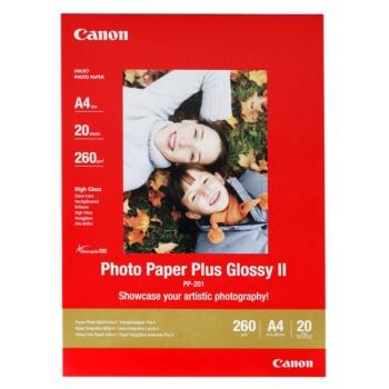 Fotopapír Canon PP201 A4, 260g, 20 listů bílý