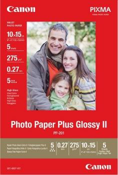 Fotopapír Canon PP-201 10x15, 265-275g, 50 listů bílý
