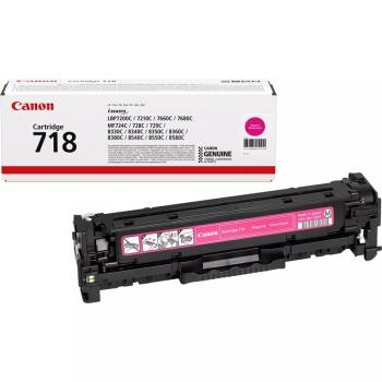 Toner Canon CRG-718M, 2900 stran červený