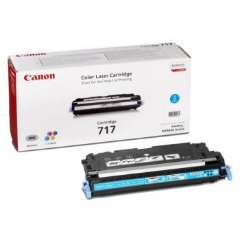 Toner Canon CRG-717C, 4000 stran - originální modrý