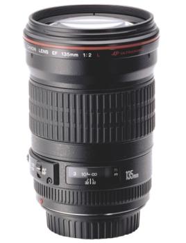 Objektiv Canon EF 135mm 1:2.0 L USM černý