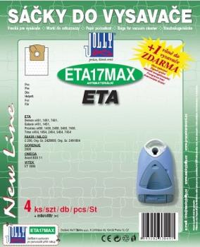 Sáčky do vysavače Jolly MAX ETA 17