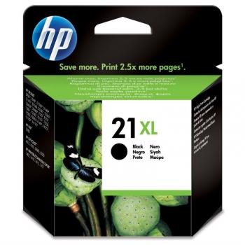 Inkoustová náplň HP No. 21XL, 475 stran - originální černá