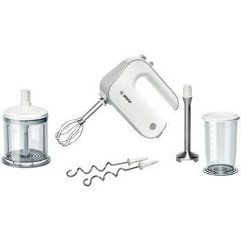 Ruční šlehač Bosch MFQ4080 stříbrný/bílý