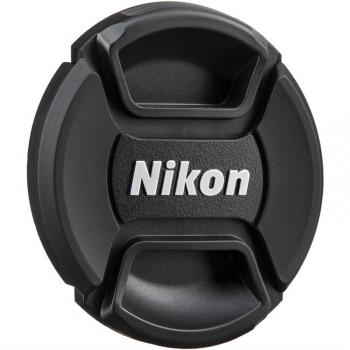 Krytka objektivu Nikon LC-58 58mm, přední černé