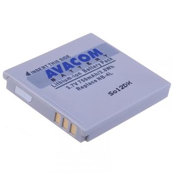 Baterie Avacom Canon NB-4L Li-Ion 3,7V 750mAh