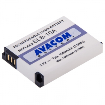 Baterie Avacom Samsung SLB-10A Li-ion 3,7V 1050mAh