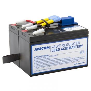 Akumulátor Avacom RBC48 - náhrada za APC černá