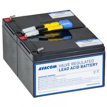 Akumulátor Avacom RBC6 - náhrada za APC černá