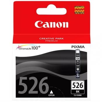 Inkoustová náplň Canon CLI-526Bk, 9ml  - originální černá