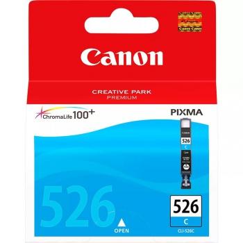 Inkoustová náplň Canon CLI-526C, 9ml  - originální modrá