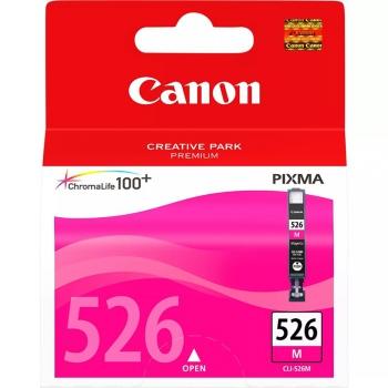 Inkoustová náplň Canon CLI-526M, 9ml  - originální červená