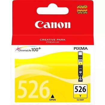 Inkoustová náplň Canon CLI-526 Y, 9ml  - originální žlutá
