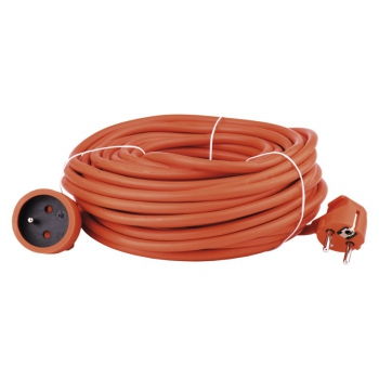 Kabel prodlužovací EMOS 1x zásuvka, 20m oranžový