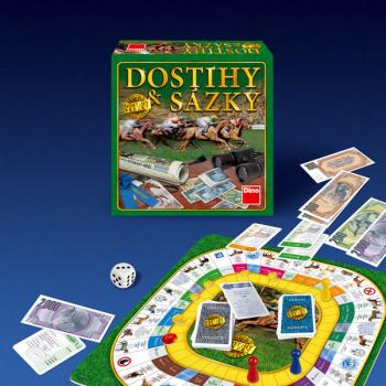 Desková hra Dino Dostihy a sázky