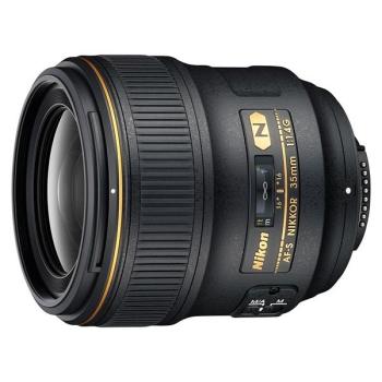 Objektiv Nikon NIKKOR 35MM F1.4G AF-S černý