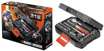 Sada nářadí Black-Decker A7142 černá/stříbrná