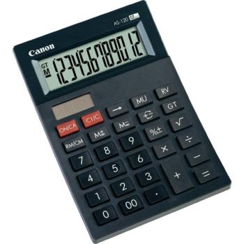 Kalkulačka Canon AS-120 černá