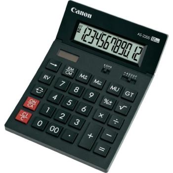 Kalkulačka Canon AS-1200 černá