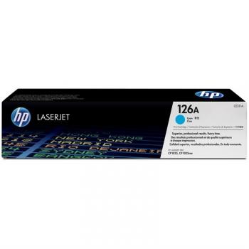 Toner HP CE311A, 1K stran - originální modrá
