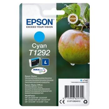Inkoustová náplň Epson T1292, 445 stran modrá