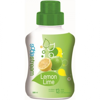 Příchuť pro perlivou vodu SodaStream Lemon Lime 750 ml