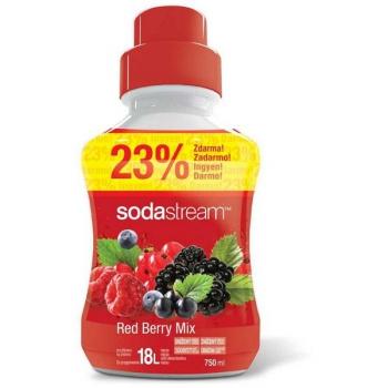 Příchuť pro perlivou vodu SodaStream Red Berry velký 750 ml