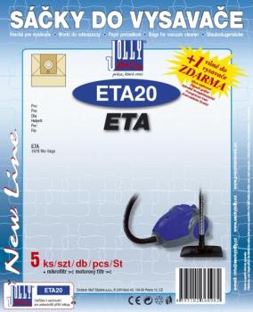 Sáčky do vysavače Jolly ETA 20