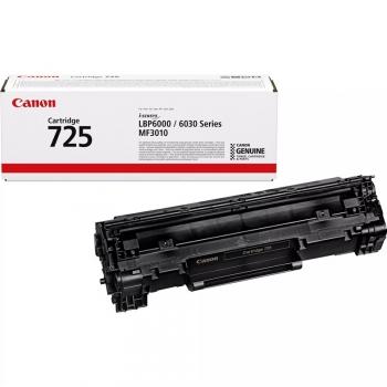 Toner Canon CRG-725, 1600 stran, originální černý