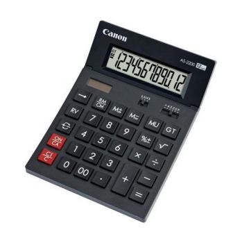 Kalkulačka Canon AS-2200 šedá