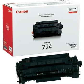 Toner Canon CRG-724, 6000 stran - originální černý