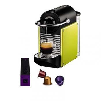 Espresso DeLonghi Nespresso Pixie EN125L zelené