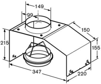 Příslušenství k odsavačům Bosch DHZ7402