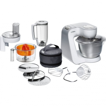 Kuchyňský robot Bosch MUM54230 stříbrný/bílý