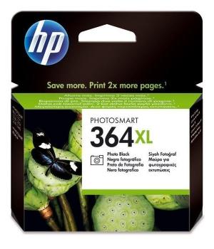 Inkoustová náplň HP No. 364XL, 290 stran, foto černá,