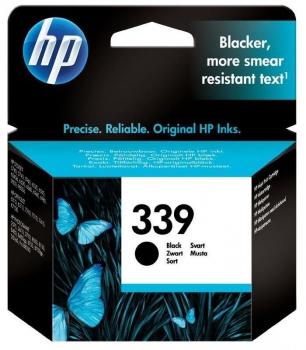 Inkoustová náplň HP No. 339, 21ml, 860 stran, černá
