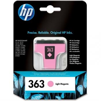 Inkoustová náplň HP 363, 5,5ml - světle červená